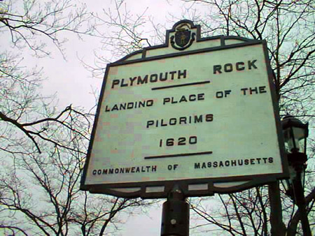 Plymouth MA sign