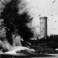 Blast at Henderson's Point, Portsmouth Harbor in 1905