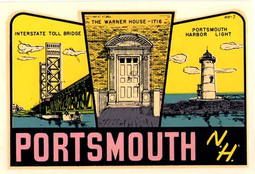 461 vintage Portsmouth Decal