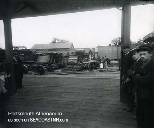 Portsmouth NH Train wreck 1909
