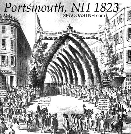 Arch in the 1823 Portsmouth Bicentennial