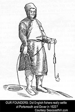 17th century New England fisherman