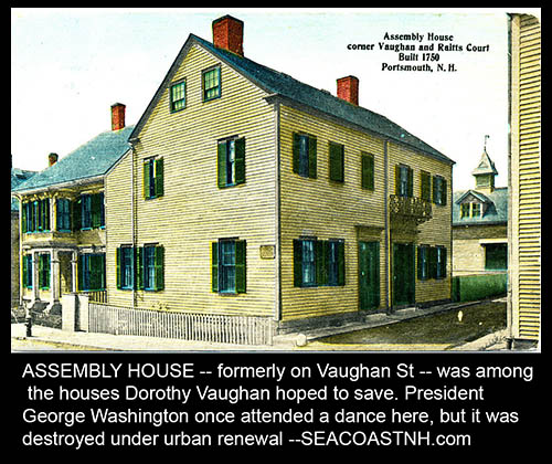 Assembly House postcard