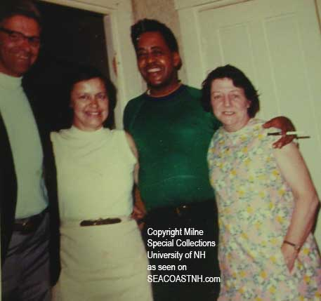 Betty and Barney Hill and friends (c) UNH Special Collection / All rights reserved