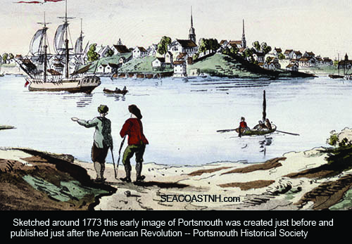 Des-Barres Portsmouth panorama