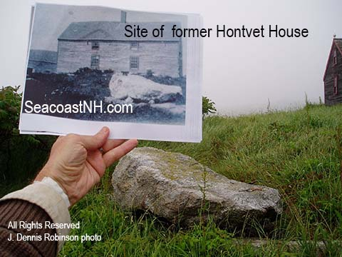Honvet House location on Smuttynose Island /copyright SeacoastNH.com