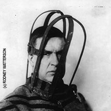 Thomas Mott Osborne demonstrating head restraint
