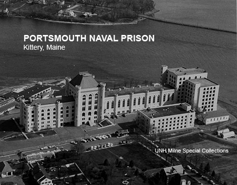 Portsmouth Naval Prison aerial