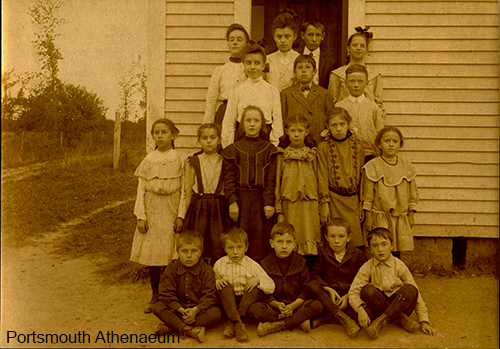 Early 20th century class at Safford School, courtesy Portsmouth Athenaeum Collection