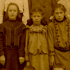 Students at Safford School courtesy Portsmouth Athenaeum