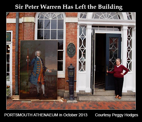 Sir-Peter Warren Leaves Athenaeum in October 2013