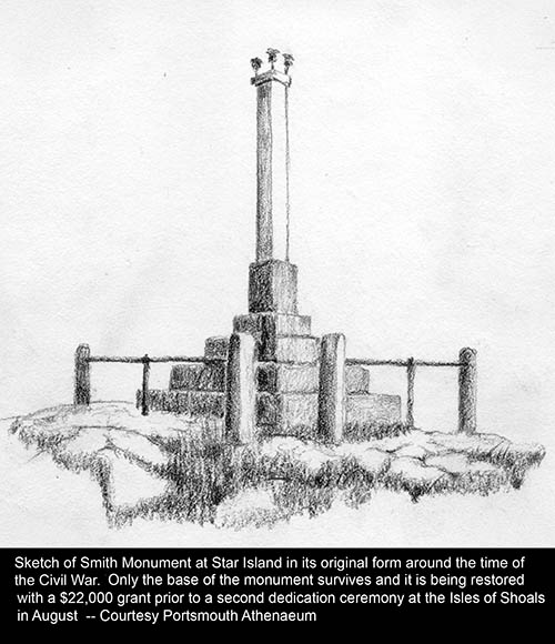 Smith Monument sketch