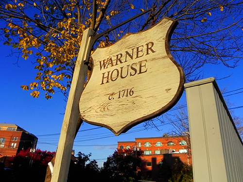 Warner House sign