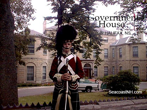 Government House in Halifax, NS