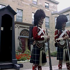 Guards at Government House, Halifax