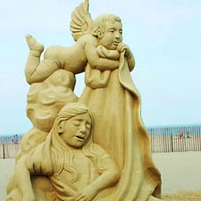 Sand Sculpture Hampton-Beach