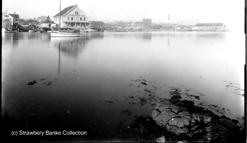 Portsmouth Yacht Club from Peirce Island early 20th century / SeacoastNH.com