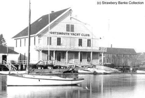 Portsmouth Yacht Club, Portsmouth, NH detail