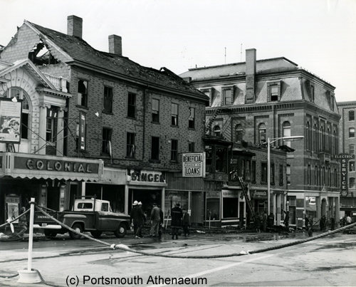 1964 Fire on Congress Street, Portsmouth, NH