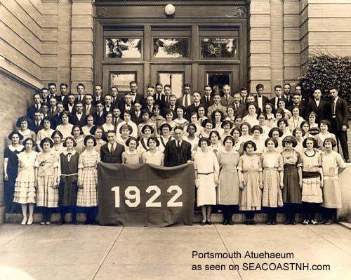 Portsmouth High School class of 1922