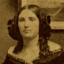 Fashionable Kittery girl Civil War era from Portsmouth Athenaeum archive