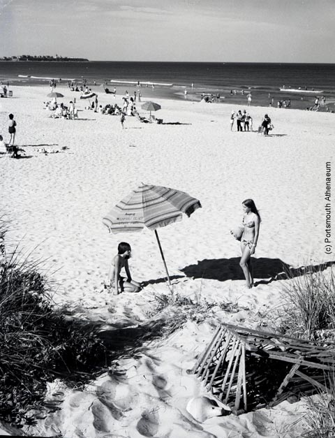 Hampton_Beach in the 1970s by Doug Armsden (c) Portsmouth Athenaeum