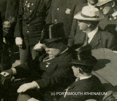 President Taft in Portsmouth, NH area / Portsmouth Athenaeum photo