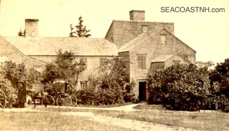 Wentworth Mansion at the time of the Coolidge Family / SeacoastNH.com