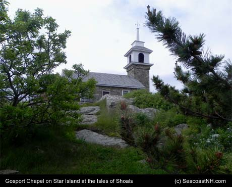 Gosport Chapel on Star Island / SeacoastNH.com