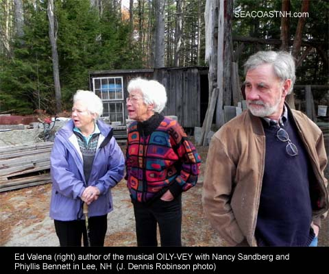 Nancy Sandberg, Phyllis Bennett and Ed Valena / J. Dennis Robinson photo