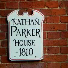Nathan_Parker_House_Sign