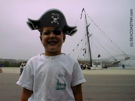 Pirate_child_with_Providence_in_Portsmouth (c) J. Dennis Robinson
