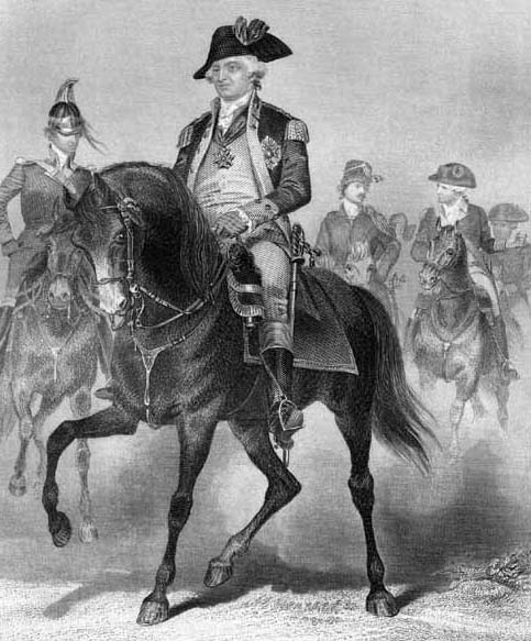 Washington_on_horseback