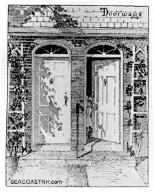 Artist rendering Atlantic Heights door design, Portsmouth, NH / SeacoastNH.com courtesy Richard Candee
