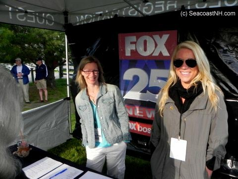 Fox News Zip Trip Greeters in portsmouth, NH