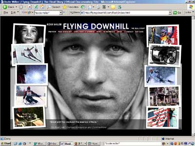 Flying Downhill web site