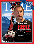 Bode Miller on TIME Cover