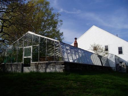 Greenhouse and barn at Odiorne family farm now run by NH State Parks / SeacoastNH.com