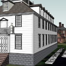 NH State House imagined drawing
