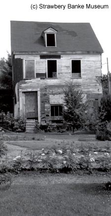 One-third of NH State House at Strawbery Banke in late 1960s