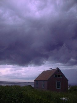 Storm over Gull Cottage