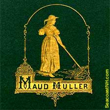 Maud Miller 1867 Illustrated poetry book / SeacoastNH.com