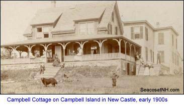 Campbell Family Cottage, New CAstle (c) SeacoastNh.com from Campbell Family